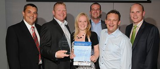 Winner of SME Construction Employer of the Year Award